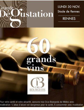 Rennes Crus Bourgeois dégustations Terroir Evasion