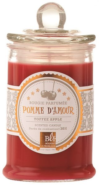 Bougie pomme d'amour TerroirEvasion.com