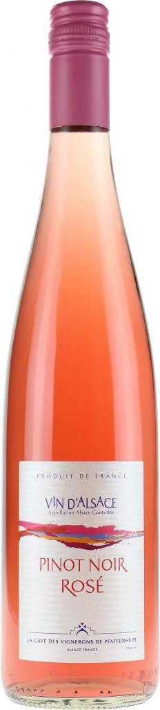 vin rosé Pinot Noir 2016 Cave des Vignerons de Pfaffenheim