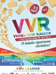 Affiche Vignes vins randos 2017 VR