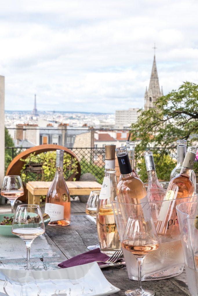 Côtes de Provence resto Belleviloise paris @Juile Limont CIVP