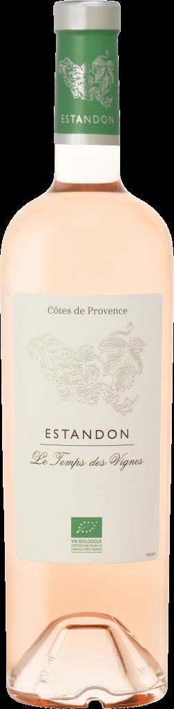 Estandon vignerons Le Temps des Vignes rosé 2016