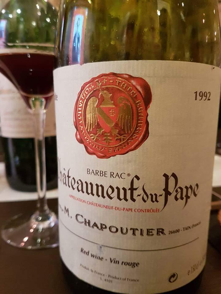 Bistrot du Sommelier Chateauneuf 1992