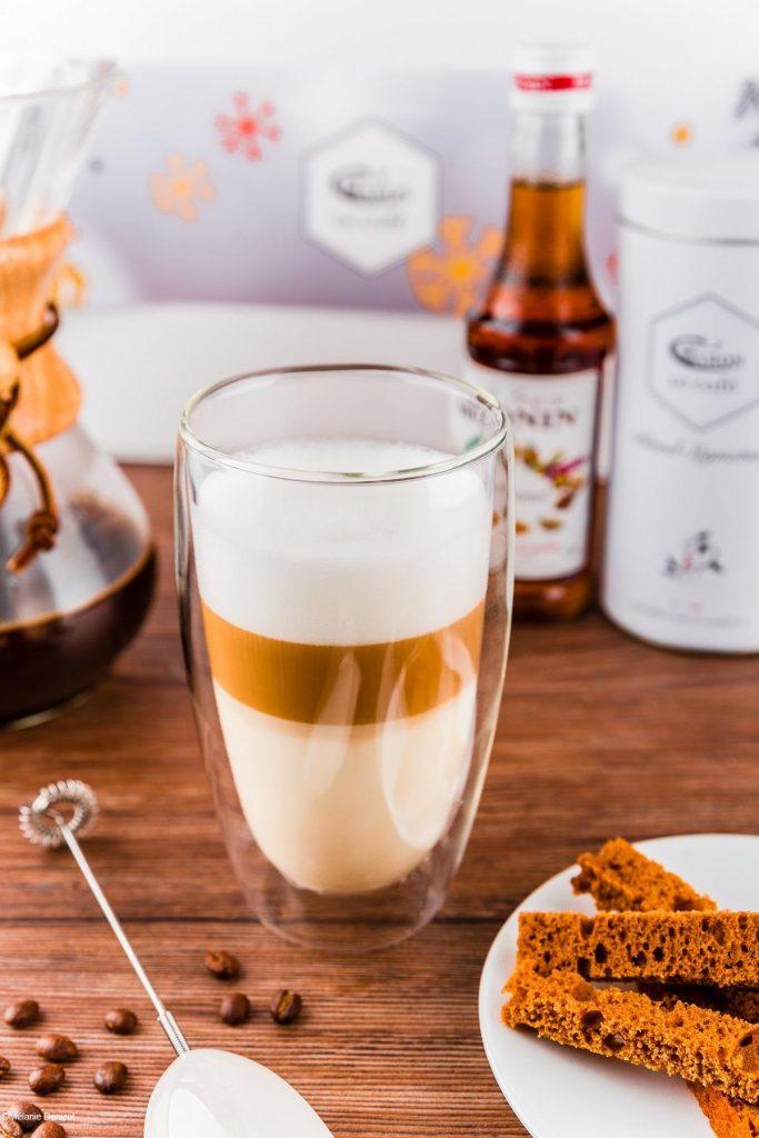 Caron Café Christmas coffee